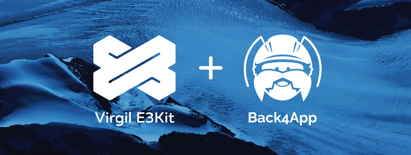 End-to-End Encryption for Back4App Using Virgil Security's e3kit SDK